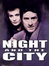 """Постер к фильму """"Ночь в большом городе"""""""