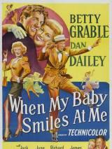 Когда моя крошка улыбается мне / When My Baby Smiles at Me