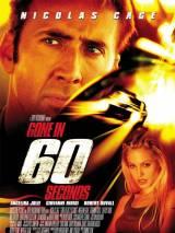 """Постер к фильму """"Угнать за 60 секунд"""""""
