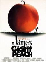 """Постер к мультфильму """"Джеймс и гигантский персик"""""""