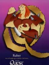 """Постер к мультфильму """"Волшебный меч: Спасение Камелота"""""""