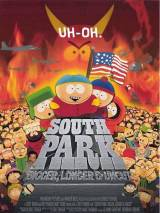 """Постер к мультфильму """"Южный парк: Большой, длинный, необрезанный"""""""