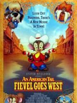 """Постер к мультфильму """"Американская история 2: Фивел едет на Запад"""""""