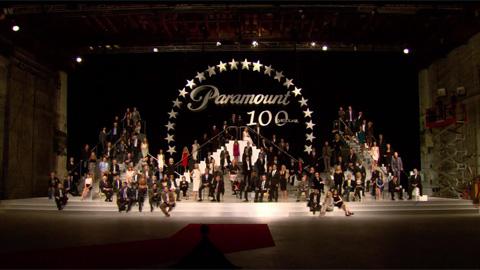 Создание фотографии к 100-летию студии Paramount Pictures