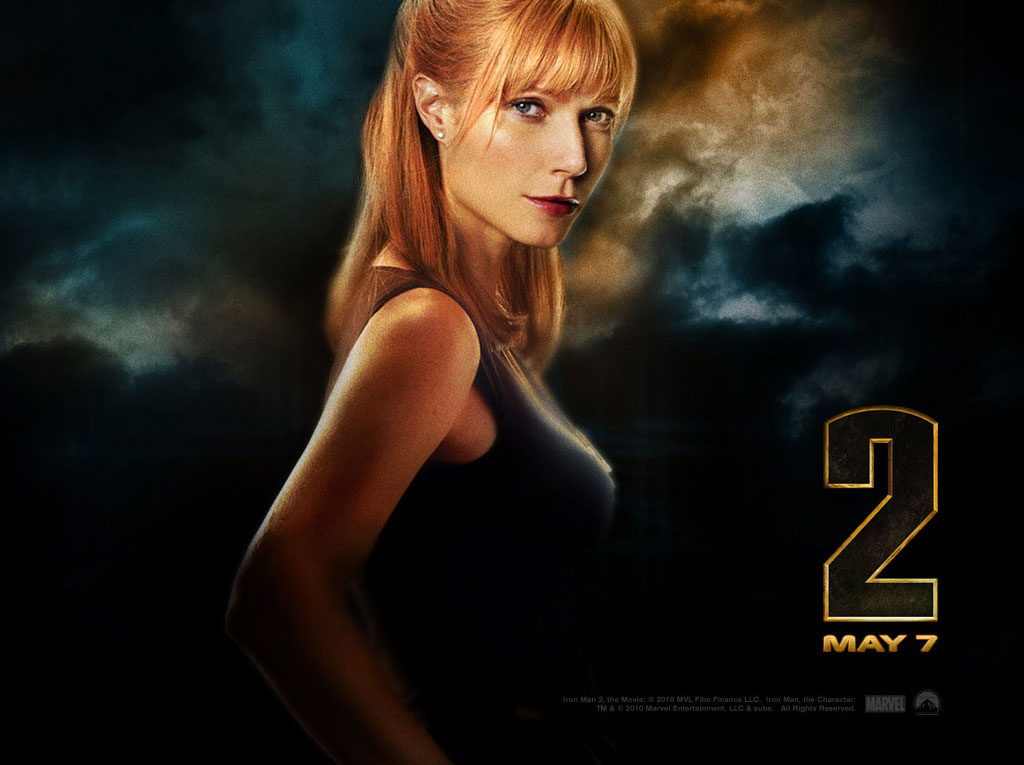 """Обои к фильму """"Железный человек 2"""" / Iron Man 2 (2010), разрешение: 1024 x 768"""