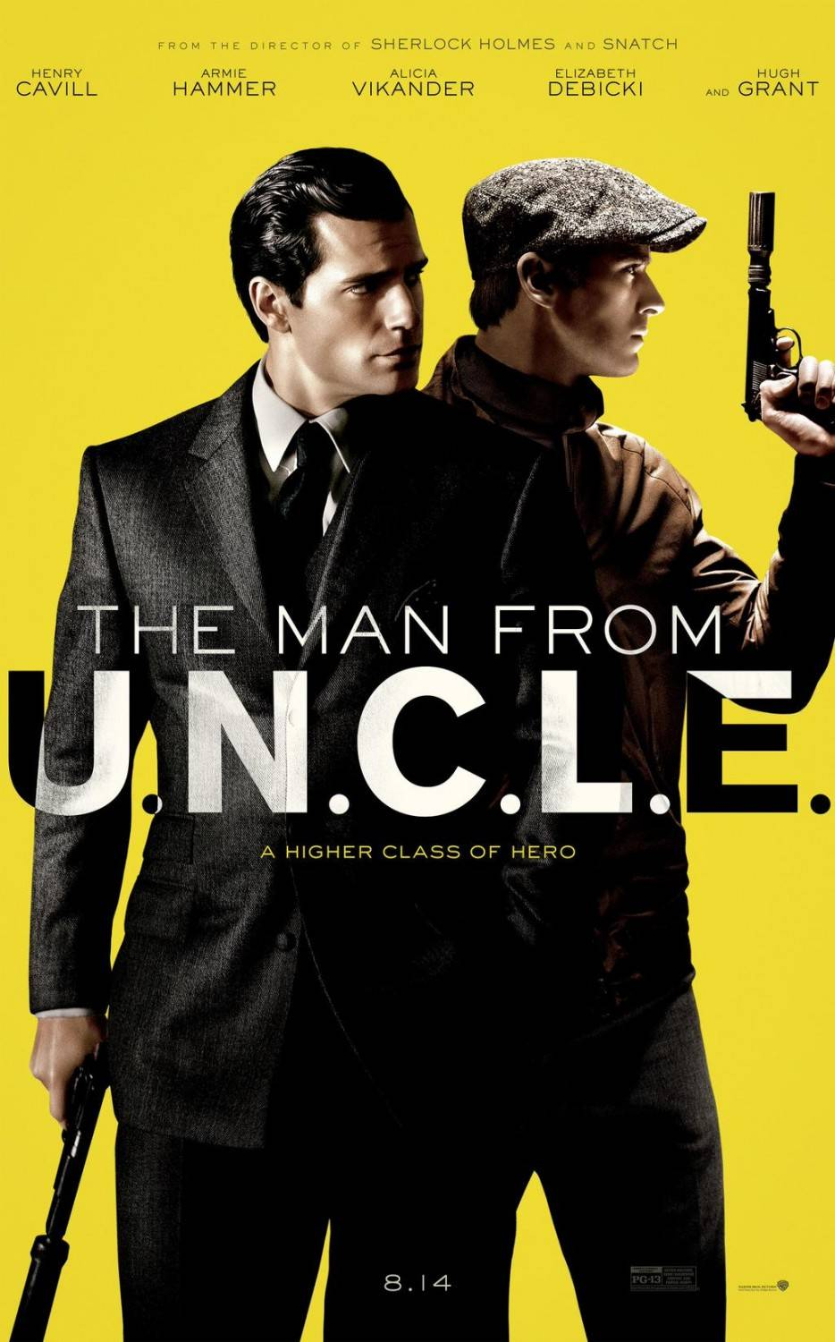 Агенты А.Н.К.Л./ The Man from U.N.C.L.E. (2015)