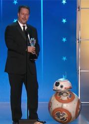 Дроид BB-8 получили премию для Industrial Light & Magic