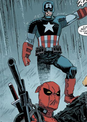 Капитан Америка, Дэдпул и Железный человек устроили перепалку в Сети