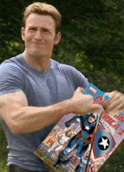 Крис Эванс прокомментировал превращение Капитана Америки в злодея