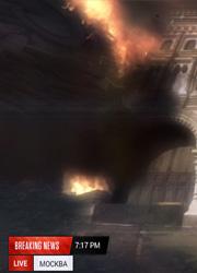 """Создатели """"Дня независимости 2"""" показали взорванную пришельцами Москву"""