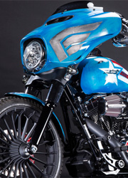Harley-Davidson выпустит мотоциклы героев Marvel