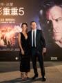 """Мэтт Дэймон и Алисия Викандер на премьере фильма """"Джейсон Борн"""" в Китае"""