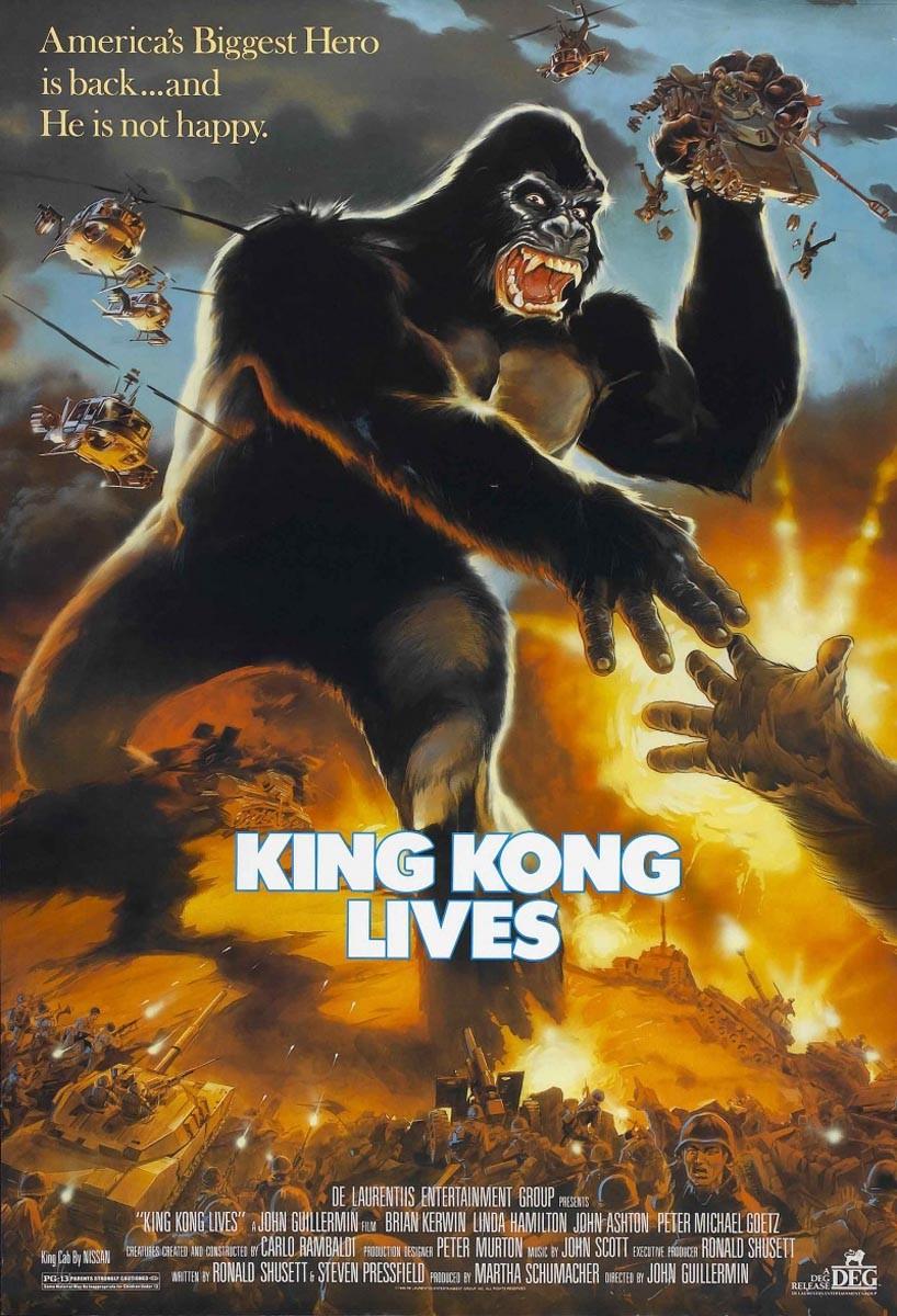 «Кинг Конг Жив» — 1986