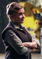 """У Кэрри Фишер предполагалась большая роль в """"Звездных войнах 9"""""""