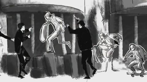 """На съемках фильма """"Майор Гром: Чумной Доктор"""""""