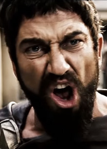 "Джерарда Батлера подняли на смех из-за фразы ""This is Sparta!"""