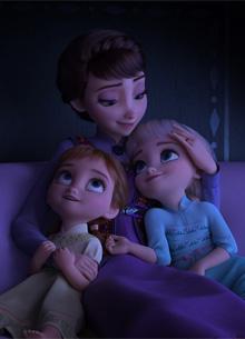 """Звезды """"Холодного сердца 2"""" получили звезды на Аллее Славы"""
