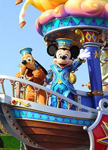Walt Disney закрыла парки развлечений в Токио