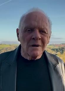 """Энтони Хопкинс записал видеообращение по поводу """"Оскар 2021"""""""