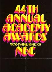 Премия Оскар 1972 номинанты и победители