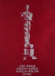 Премия Оскар 1971 номинанты и победители