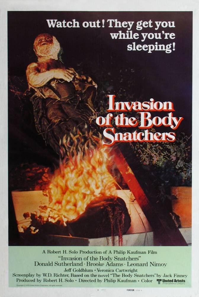 Кадры из фильма «Вторжение Похитителей Тел» / 1978
