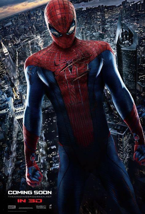 N26457 к фильму новый человек паук 2012