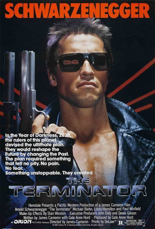 Постер n3813 к фильму терминатор 1984