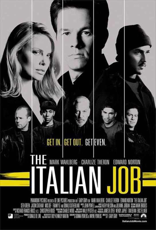 Кино ограбление по итальянски