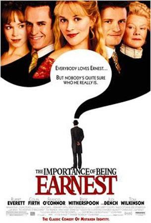 Как важно быть серьезным / The Importance of Being Earnest [2002 г., комедия, мелодрама, драма, DVDRip]