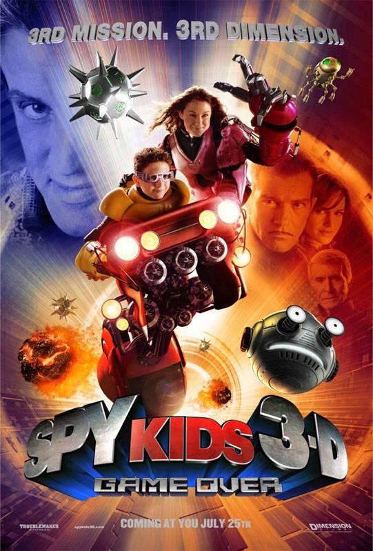 Постер n6871 к фильму дети шпионов 3 игра