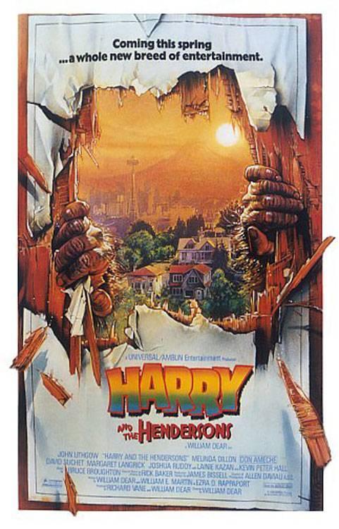 Фильм «Гарри И Хендерсоны» — 1991 - 1993