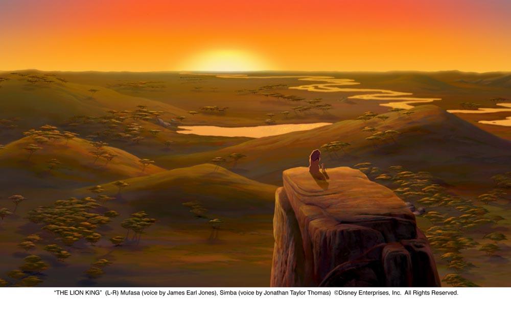 из мультфильма король лев