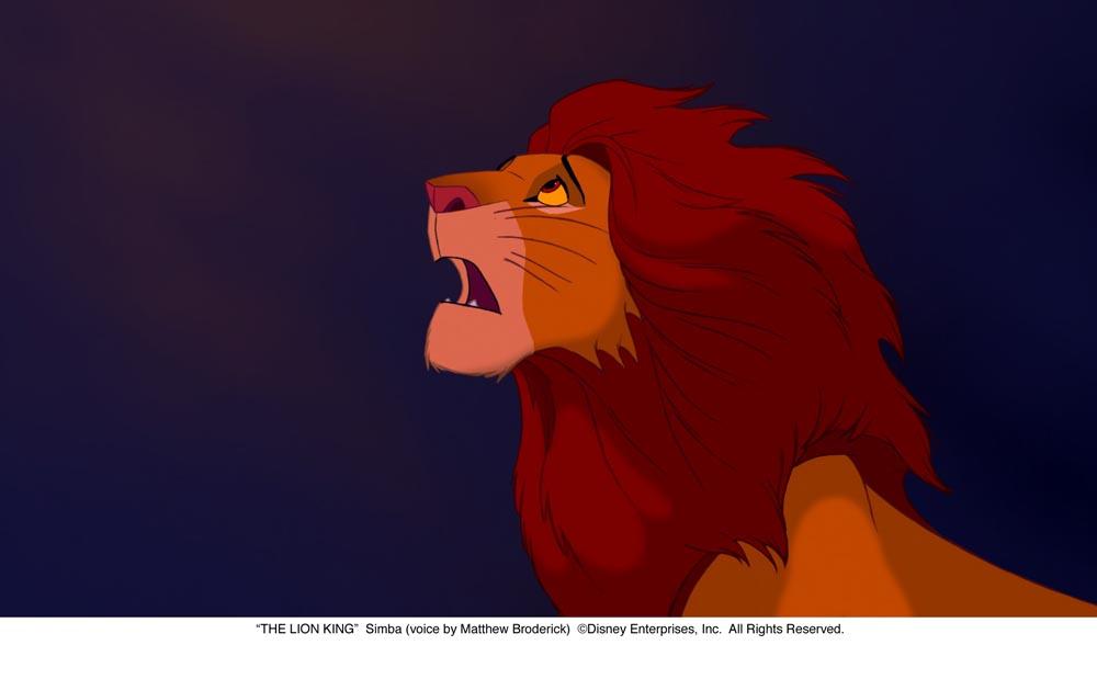 Из мультфильма король лев the lion king 1994