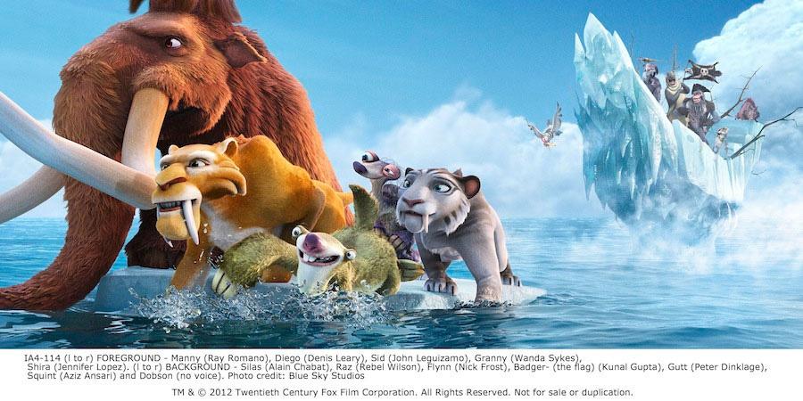 смотреть ледниковый период: