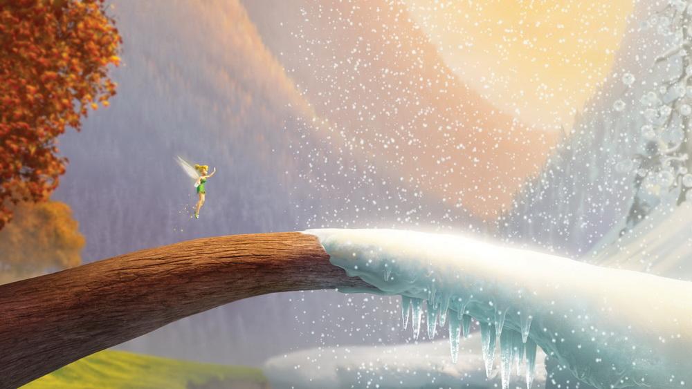 Из мультфильма феи тайна зимнего леса