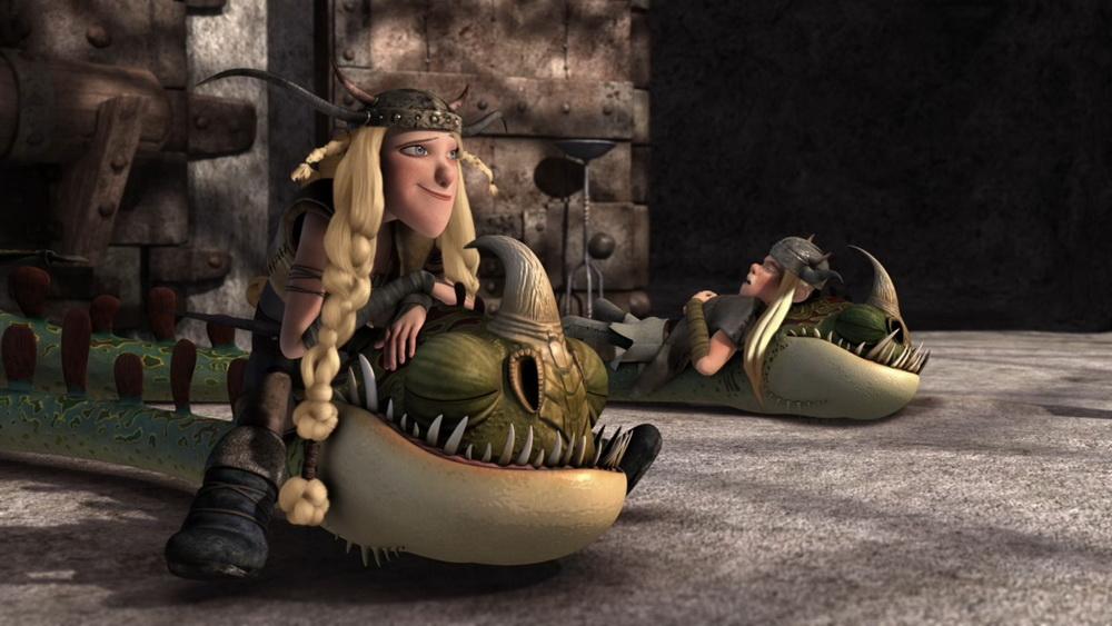 Драконы и всадники олуха dragons riders of berk