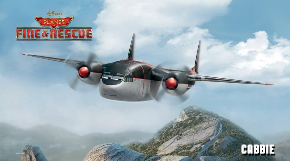 К мультфильму самолеты огонь и вода