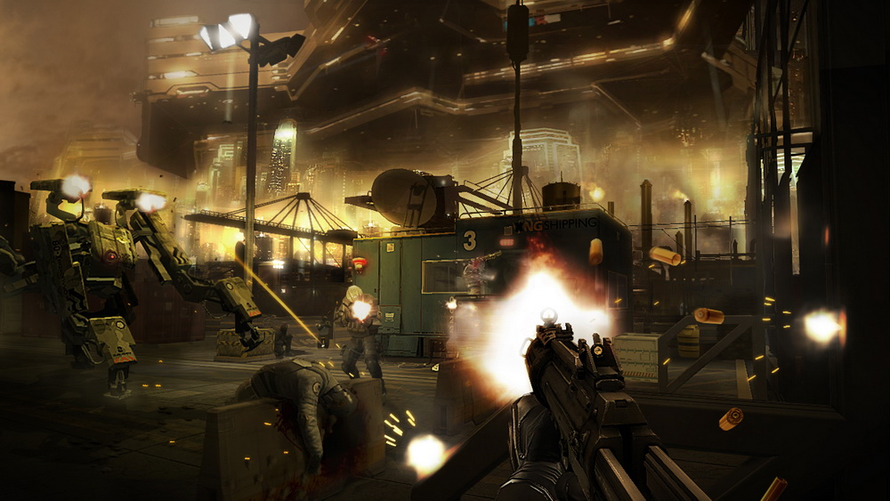 Deus Ex: Human Revolution - Director's Cut (2013) PC Steam-Rip от Let&