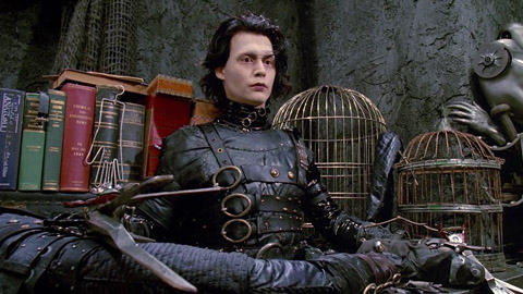 Фильм Эдвард руки-ножницы / Edward Scissorhands (1990 ... джонни депп фильмы